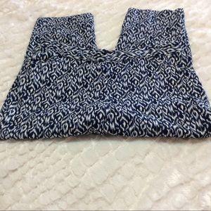 Rafaella Curvy Patterned Capri Pants 12